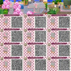 Animal Crossing: New Leaf QR Code Paths Pattern: Photo