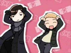 Uhm.. not sure why... but this is extremely funny to me. I just love Sherlock and John's expressions.