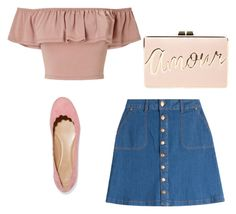 """""""Girly Outfit"""" by delnazzz on Polyvore featuring mode, HUGO, Miss Selfridge, Chloé en BCBGMAXAZRIA"""