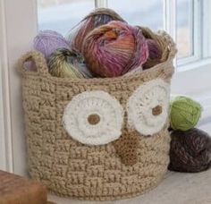 Crochet Storage Baskets Lots Of Free Patterns