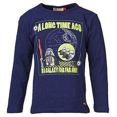 LEGO 16395 - Camiseta de manga larga para hombre, color blau (midnight blue 588), talla 4 años (104 cm) #camiseta #starwars #marvel #gift