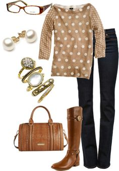 """Polka Dot"" by vintagesparkles78 ❤ liked on Polyvore"