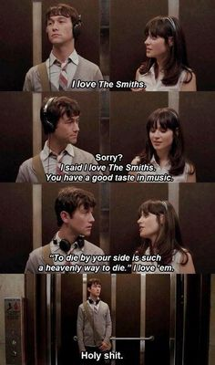 500 Days of Summer. I finally got to watch it!! and it's safe to say that it's my favorite!!! (::