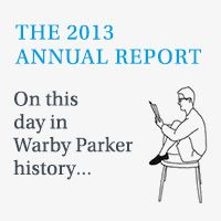 Fun, interactive way to present an annual report: The 2013 Warby Parker Annual Report