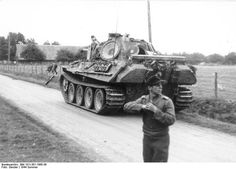 116. Panzer-Division on the Normandy front, June 21, 1944