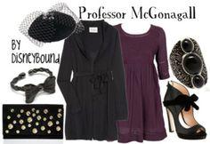 Professor McGonagall clothing for a future professor... I think so!!!