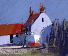 "TONY ALLAIN dpanz,psa : colour and light / ""Sunlight"" / pastel"