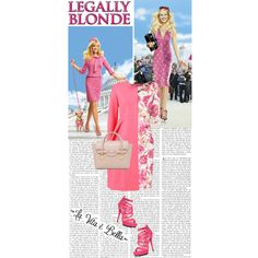 Legally Blonde, created by hannahrox313 on Polyvore