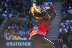 The beautiful World #1 Serena Williams advances to the 2013 U.S. Open Finals! ....  The reigning 2013 French Open Champion Serena routed 2011 French Open Champion Na Li 6-0, 6-3 & with that victory in their SF on Arthur Ashe Stadium, Serena is into the Championship Final v World #2 Vika Azarenka again. 9/6/13 <3 #TeamSerena
