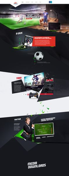 Fifa 2013 by Kamil Kucharczyk , via Behance