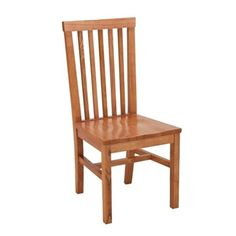 ACF-410 Wood Side Chair. Availability: In Stock. Sold in multiples of 2 with a minimum order of 4.  Made in USA. Solid wood seat. Chair is constructed of kiln-dried hardwood. Chair frame stress points are reinforced with double dowel rods and glue and/or screwed for added durability.