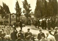 المقبرة العسكرية للجنود الالمان في مدينة الناصرة - فلسطين 1918م  Military Cemetery of German soldiers in the city of Nazareth-Palestine 1918