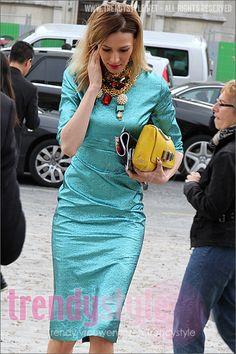 Metallics dress