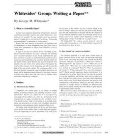 George M. Whitesides