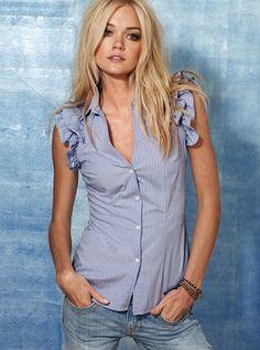 LA COSTURA DORK: Victoria Secret Knockoff Shirt