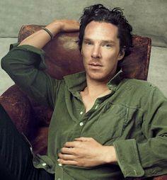 Benedict Cumberbatch by Annie Leibovitz, Vogue 2013