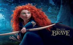 Brave: Qué maravilla de película. La animación está espectacular./What a wonderful movie. The animation is spectacular.