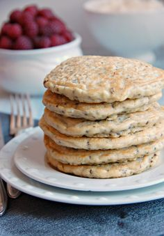 Red Quinoa Pancakes - The Kitchen McCabe