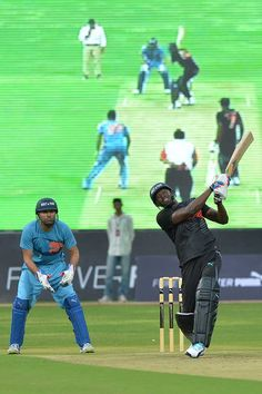 Usain Bolt Charms India, Shows Off Cricketing Skills Bolt may be known for his sprints but there was the same sense of urgency in his batting as well, in the four-overs-a-side match.