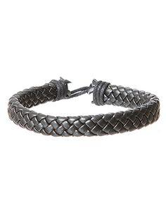 rue21 Woven Leather Bracelet. $2.99