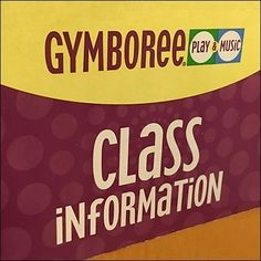 A wall-mount wood enclosure serves as Gymboree Class Information Wood Literature Holder. A Class Information label advises all that notice…