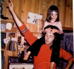 Paul With His Older Daughter Mary Ann McCartney