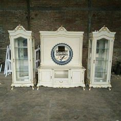 Set Buffet TV Contact Whatsapp: + 62-856-4072-2711 Sales testimonials: Can be viewed at: Instagram: @zakirfurnitureindonesia_store dg hastag #testimoninzfurniture and can also be viewed in FaceBook: agus fajar rudito in galery album or at https://www.facebook.com/nzfurniturejepara/