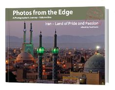 A photographers account of his journey in Iran. Stunningly designed and photographed, it's 86 pages  carry near 100 photographs (all with metadata, 30 of them full page colour plates. It contains experiences of the journey  relating directly to them, and describes the aspects, both practical and technical in making the photographs. From the Caspian Sea to the Persian Gulf, a thoughtful expose of the Iranian people and their country.