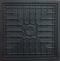 faux tin sillver tile,brush nickel ceiling tile Suspended Ceiling Faux Black Modern Ceiling Tiles PVC for Drop in and Glue Up. Modern Ceiling Tile, Plastic Ceiling Tiles, Faux Tin Ceiling Tiles, Tin Tiles, Black Ceiling, Ceiling Panels, Ceiling Medallions, Grid, Ceilings