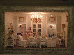 dining room by goldieholl, via Flickr