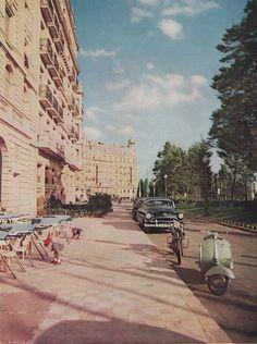 1960. Barcelona. Diagonal/ Calvo Sotelo