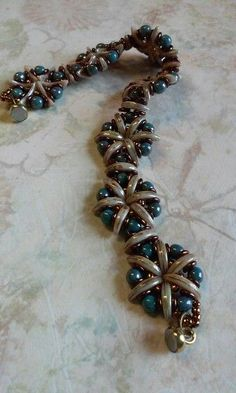 crescent bead bracelet - Google Search