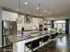 View 14 photos of this 3 bed, bath townhouse located at 404 Duckbill Ln, Annapolis, MD 21409 One Wall Kitchen, Basement Kitchen, Kitchen Decor, Kitchen Ideas, Small Kitchen Lighting, Rustic Bathroom Lighting, Home Renovation, Home Remodeling, Kitchen Remodeling