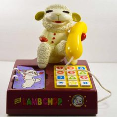Lambchop Toy Phone, $47, now featured on Fab.