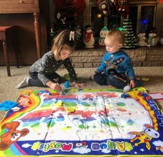 Thank you so much to for sending us this awesome pic using our doodle mat! I hope you guys have been enjoying it! Were making some amazing improvements to this toy in the coming months too- cant wait to share! Toys Online, Pop Beads, Picnic Blanket, Outdoor Blanket, Stacking Toys, Jewelry Making Kits, Creative Play, Learning Toys