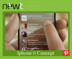 Rumors about Iphone's concept. #NEWT4Business