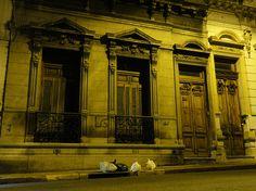 San Telmo at night, Buenos Aires - South America trip, Jun 2010
