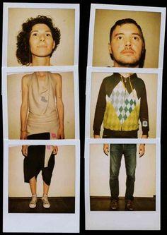"""Remo Camerota's """"Polaroid Portraits"""" project Polaroid Instax, Photo Polaroid, Polaroid Pictures, Polaroids, Polaroid Collage, Fujifilm Instax, Photography Projects, Creative Photography, Portrait Photography"""