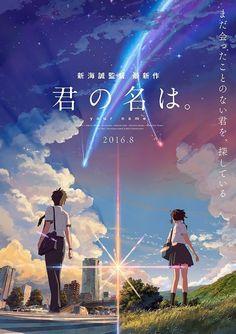 Le film Kimi no Na wa. diffusé dans 85 pays dont la France | Manga Mag