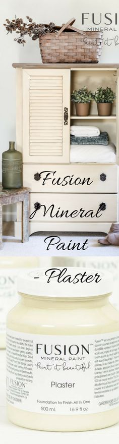 Fusion Mineral Paint in Plaster is a generously soft sand, not too white, not quite beige. A beautiful neutral for anywhere in your home. Buy it now at Painted.