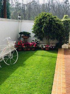 Backyard Garden Design, Garden Landscape Design, Small Garden Design, Cozy Backyard, Backyard Ideas, Garden Ideas, House Garden Design, Landscape Steps, Backyard Pools