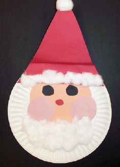 Cute pie plate Santa - my kids did this at 1 and 2 years old, had a blast!
