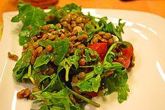 vegan-Salat aus roten Linsen, ein schmackhaftes Rezept aus der Kategorie Schnell und einfach. Bewertungen: 51. Durchschnitt: Ø 4,6.