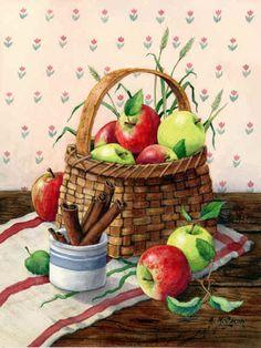 """Apples and Cinnamon""  by Maureen McCarthy"