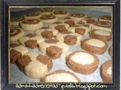 Biscoitos de Baunilha e Chocolate