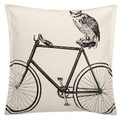 Luddite Collection Owl Pillow
