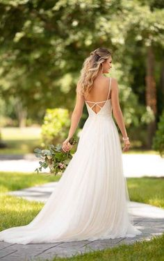 Wedding Dresses Ball Gown Fairies 6788 Casual Wedding Dress with Back Detail by Stella York.Wedding Dresses Ball Gown Fairies 6788 Casual Wedding Dress with Back Detail by Stella York Affordable Wedding Dresses, Best Wedding Dresses, Bridal Dresses, Wedding Gowns, Bridesmaid Dresses, Wedding Blog, Burgundy Bridesmaid, 2017 Wedding, Summer Wedding