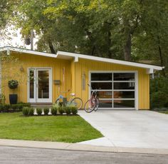 mid century home: I love remodeled, vintage, California style homes!