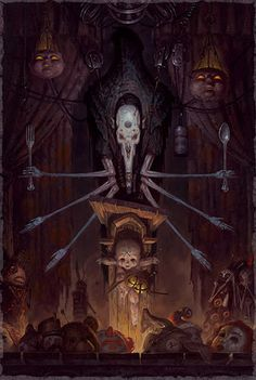Gerald Brom...this scared me but. Ts magnificent isn't it?