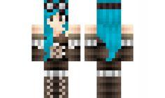 Female steam punk Minecraft Skin